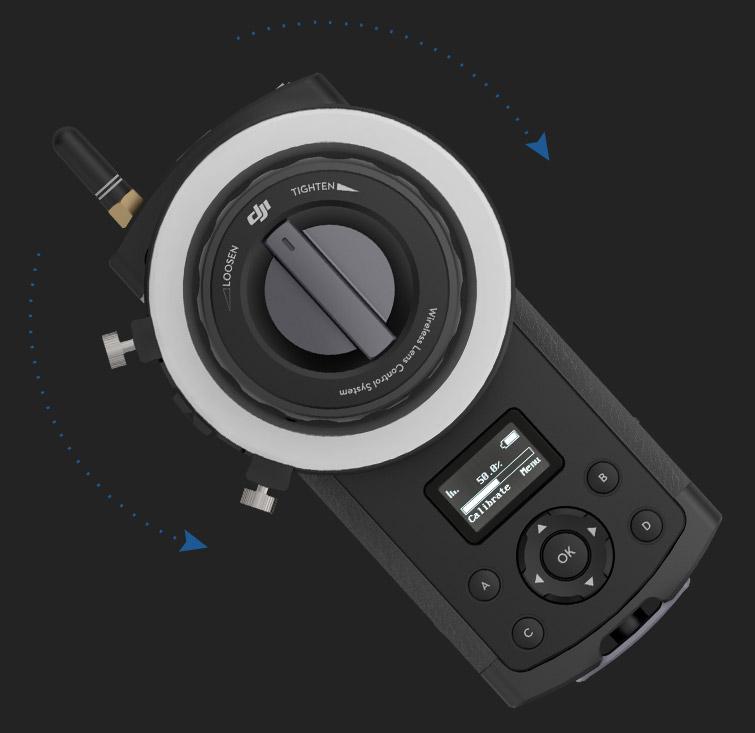 大疆发布无线跟焦器DJI Focus 第2张