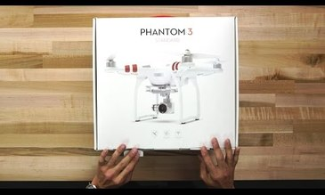 Phantom 3 Standard Tutorial - Unboxing