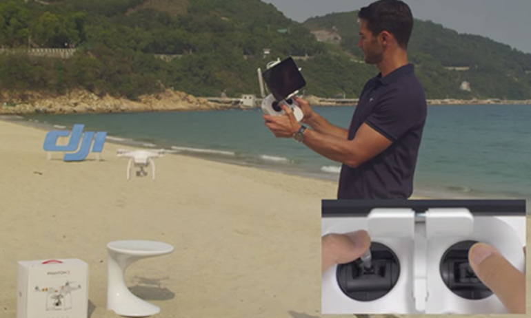 DJI - Phantom 3 Tutorial - How To Fly