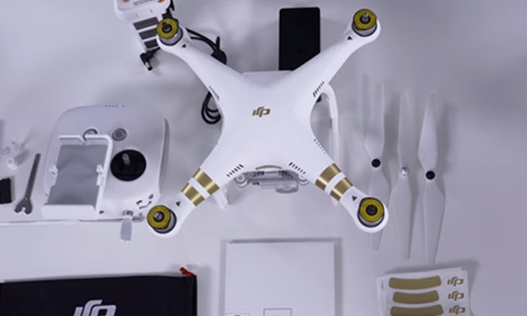 DJI - Phantom 3 Tutorial - Unboxing Part 2
