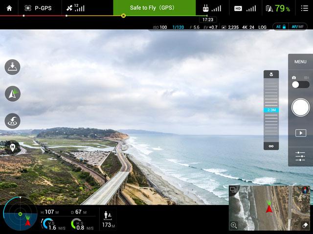Image result for dji go app inspire 1