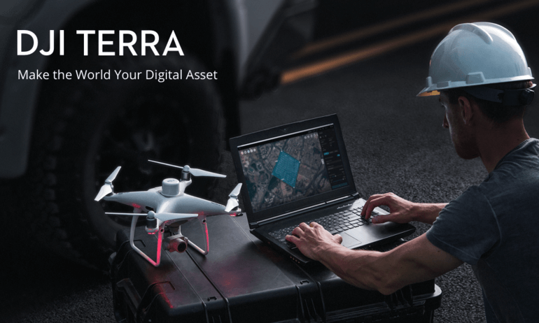 DJI Introduces DJI Terra To Capture, Visualize And Analyze Drone Data