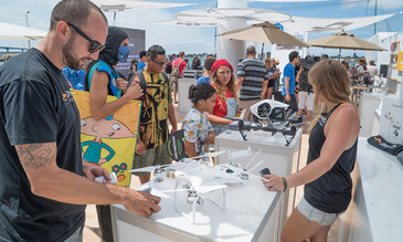 DJI Gives Fans Super Powers During Comic-Con 2015