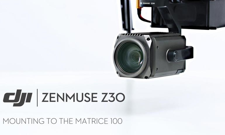 Zenmuse z30 Mounting To The Matrice 100