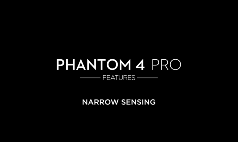 DJI - Phantom 4 Pro - Narrow Sensing
