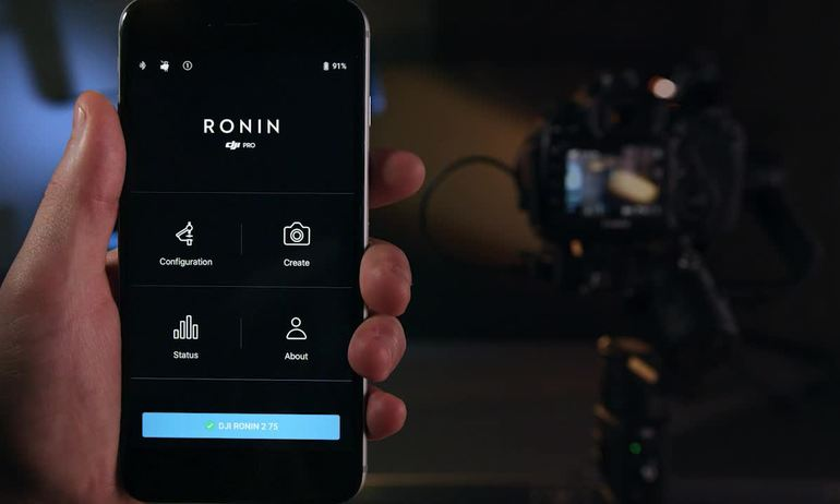 DJI Tutorials - Ronin-S - App: Basic Functions