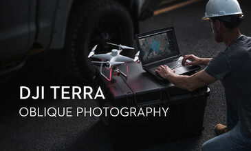 DJI Terra - Oblique Photography